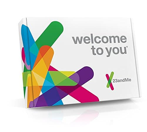 $139 - 23andMe DNA Test - Health + Ancestry Personal Genetic Service - 75+ Online Reports - includes at-home saliva collection kit - $139.00 @ Amazon