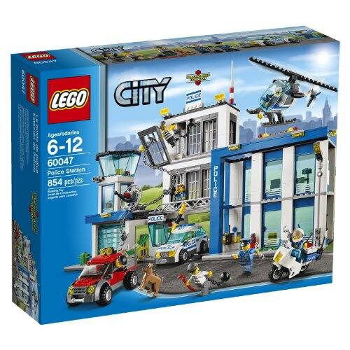 Lego City Cargo Train (60052): $123.99 and Police Station (60047): $64.99 at Target and Multiple Other Retailers (free pick up and/or shipping at some retailers)