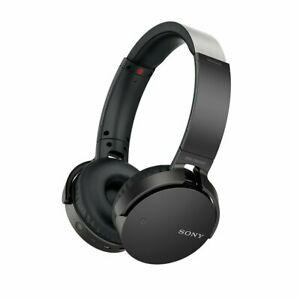 Sony MDRXB650BT/B Extra Bass Bluetooth Headphones, Black $25.49