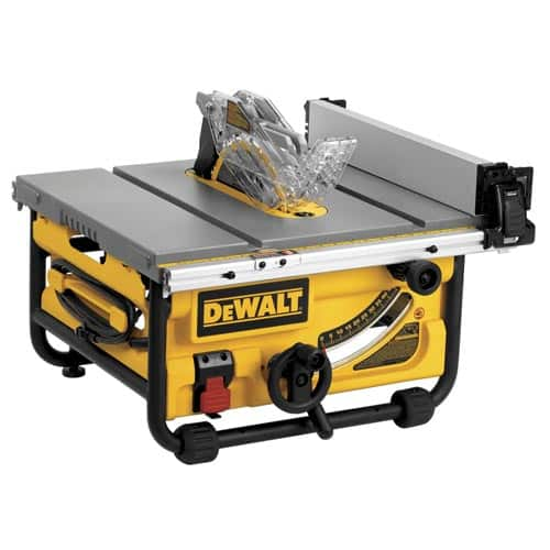 Dewalt DWE7480 Compact Table Saw for $259.00 + get $25.90 in Rakuten points