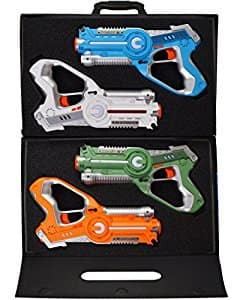 Dynasty Toys Laser Tag Set and Carrying Case - $74.99 on Amazon