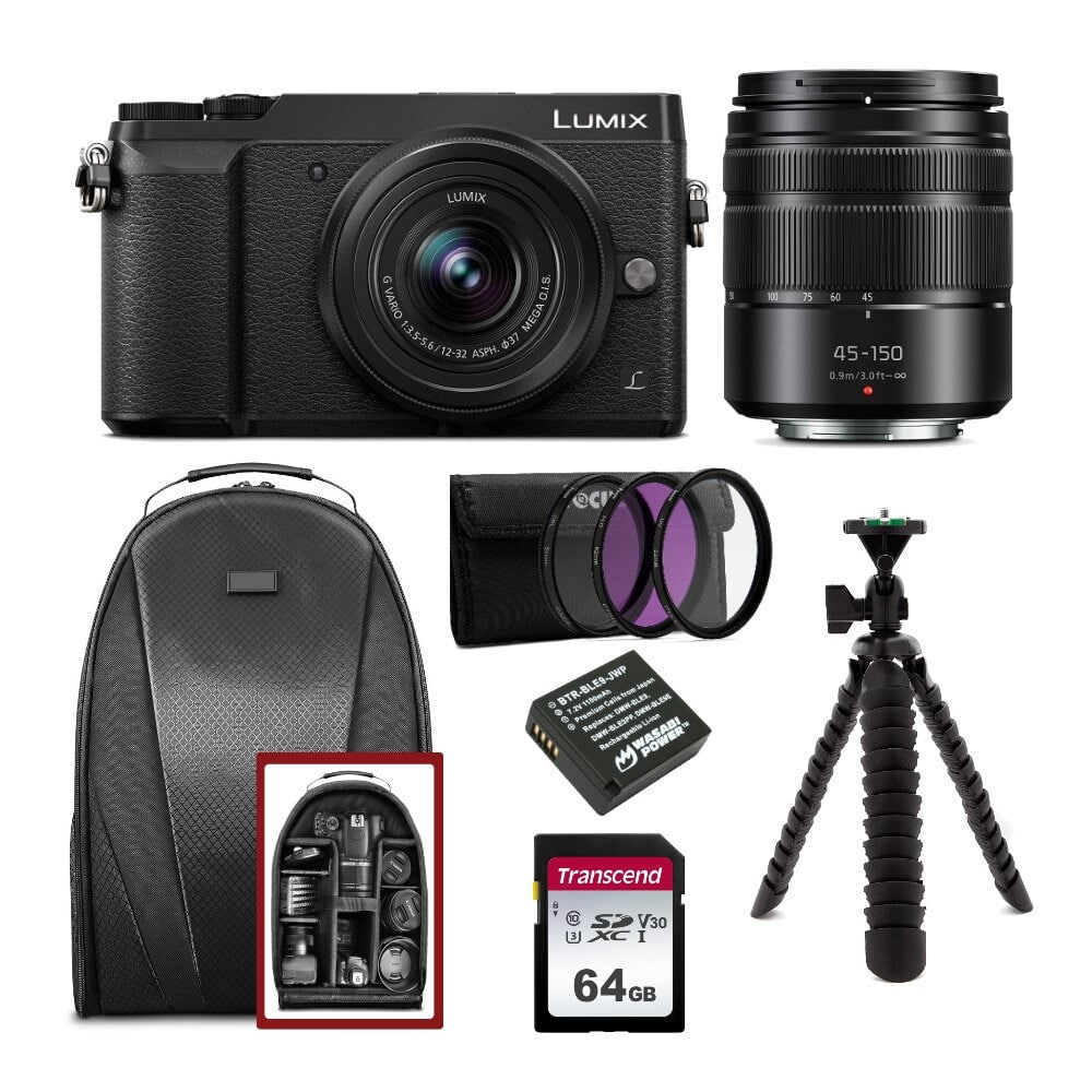 PANASONIC LUMIX GX85 Bundle $449.99 with 21% back in points worth $94.24!