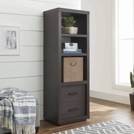 Better Homes & Gardens Steele Audio/Video Tower for Your Home, Espresso $21