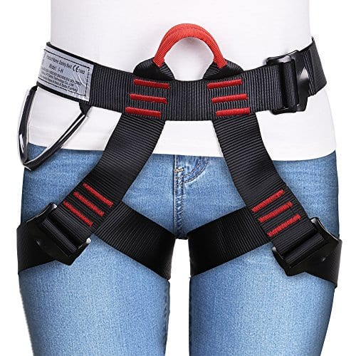 Climbing Harness Safe Seat Belt for Fire Rescue High Altitude, etc $17.93 AC