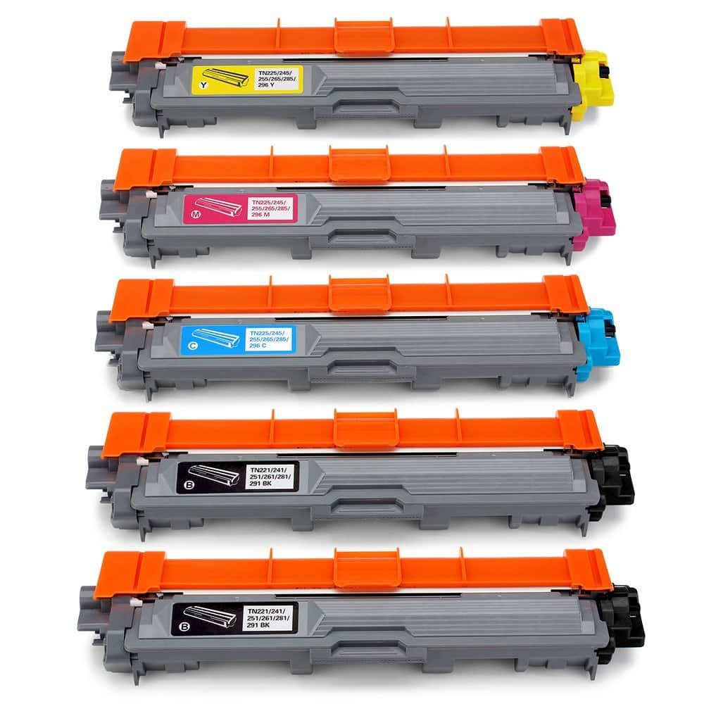 Office World Compatible Toner Cartridge Replacement for Brother TN221 TN-221 TN225 TN-225 $29.99