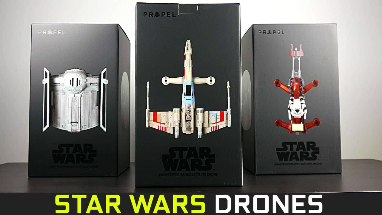 Star Wars Propel T65 X-Wing Drone quadcopter (or Tie Advanced X1 or Z74 Speeder) $76+ tax shipped with Target red card. $76