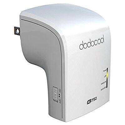 AC750 WiFi Range Extender Wireless Repeater $13.99 @Amazon