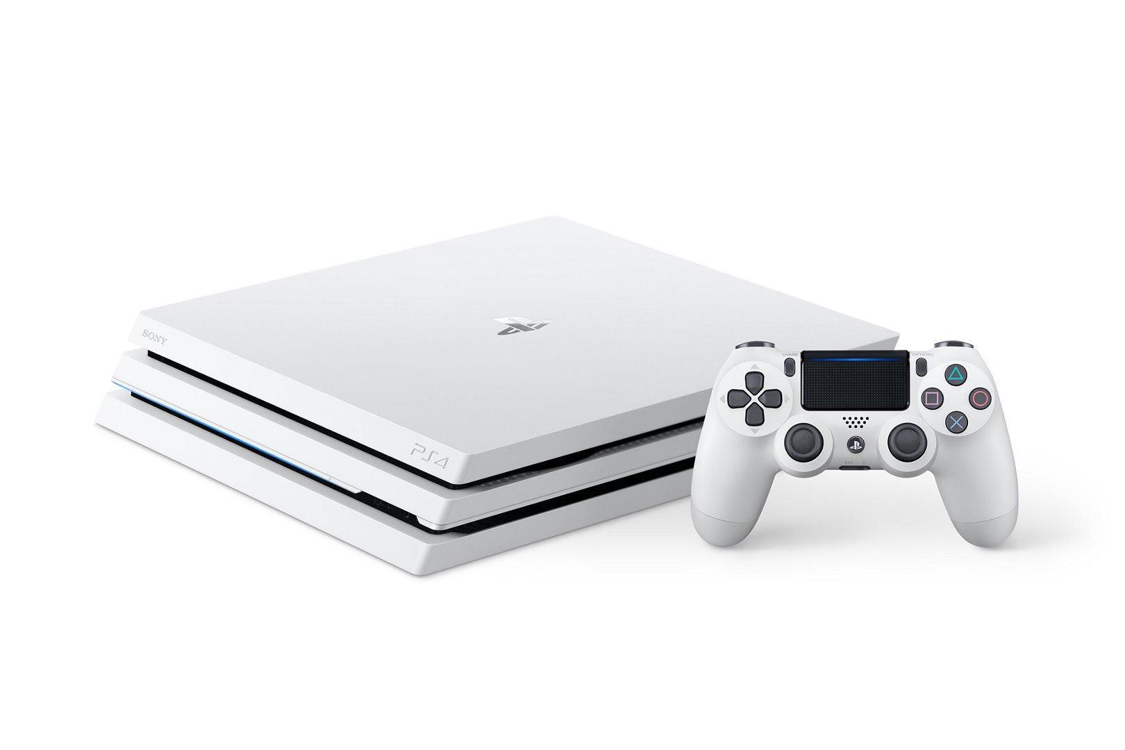 PlayStation 4 Pro Glacier White 1TB $299.99