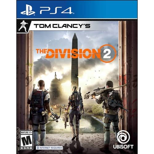 Tom Clancy's The Division 2 Standard Edition - PS4 / Xbox One $14.99