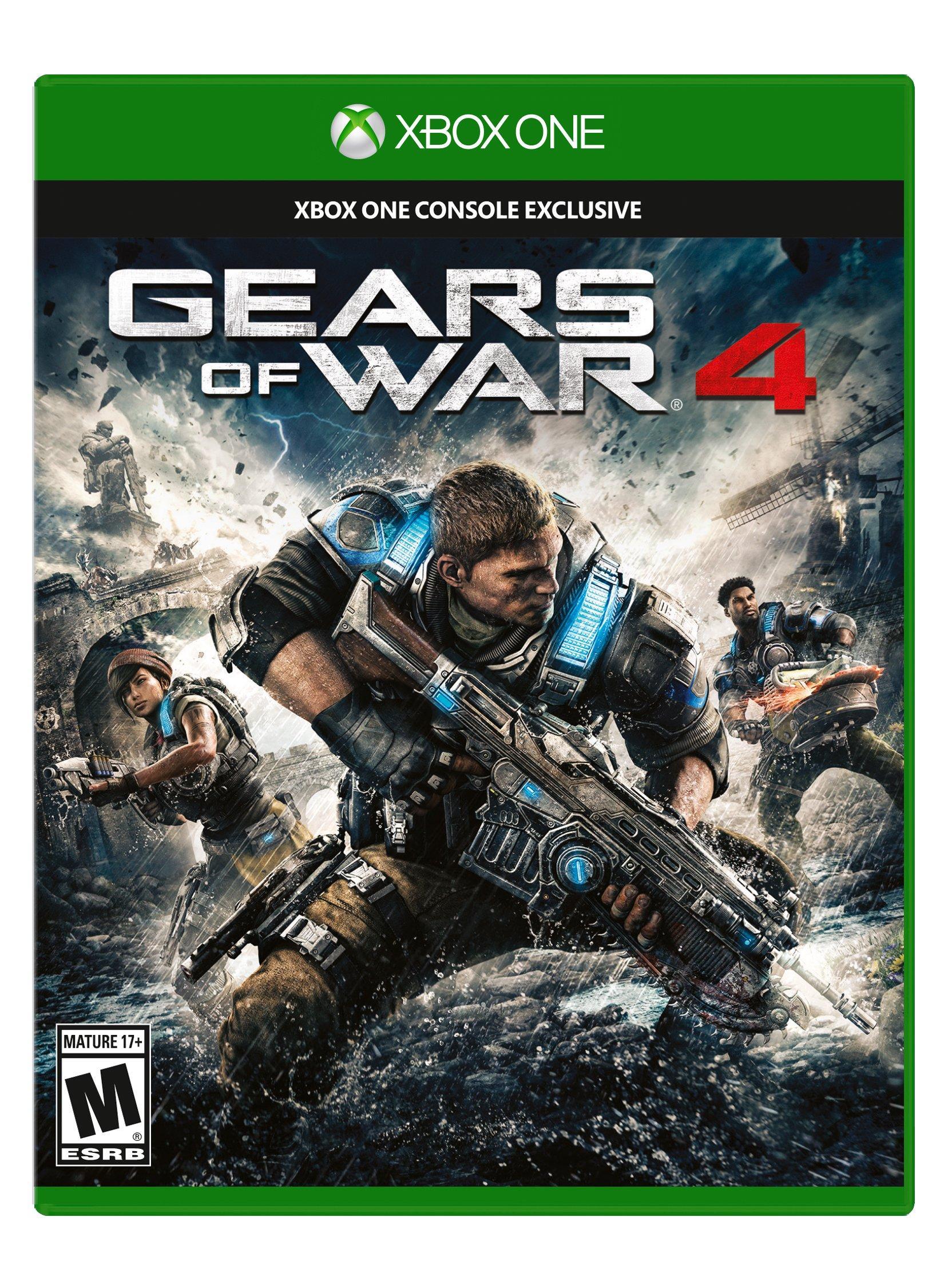 Gears of War 4 (pre-owned) $4