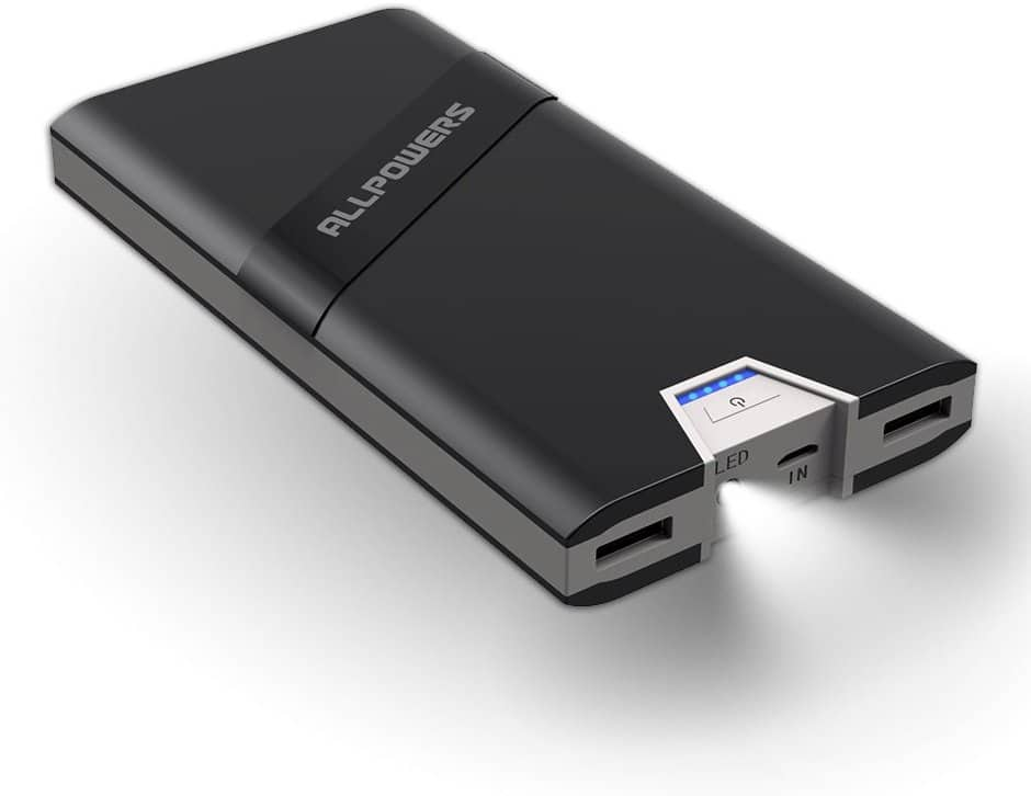 ALLPOWERS 20800mAh Power Bank with 4.5A Output & 2A Input - $17.39AC Amazon