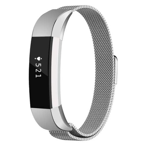 Fitbit Alta HR and Alta Metal/Stainless Steel Bands $4.99 AC (Silver for $3.99 w/o code)