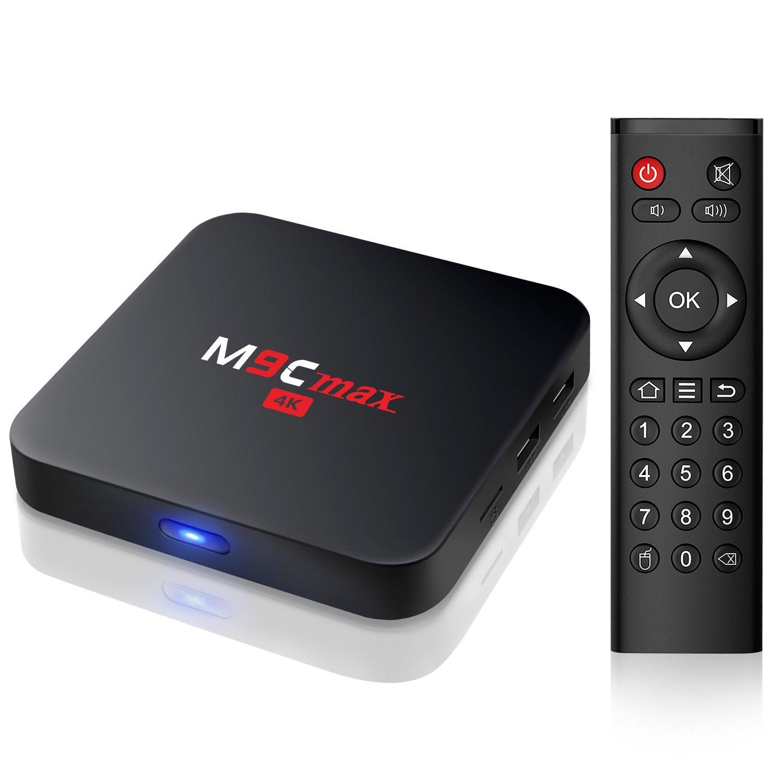 M9C max TV Box 4K [2G/16G] Android 6 0 Marshmallow Amlogic