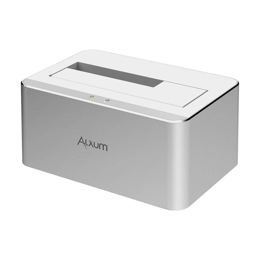 Alxum USB 3.0 to SATA 2.5/3.5 Inch Hard Drive Docking Station @Amazon - $12.49