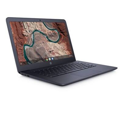 "HP Chromebook 14"" Chrome OS 4GB RAM / 32 GB Storage (14-db0031nr) - Navy $199"