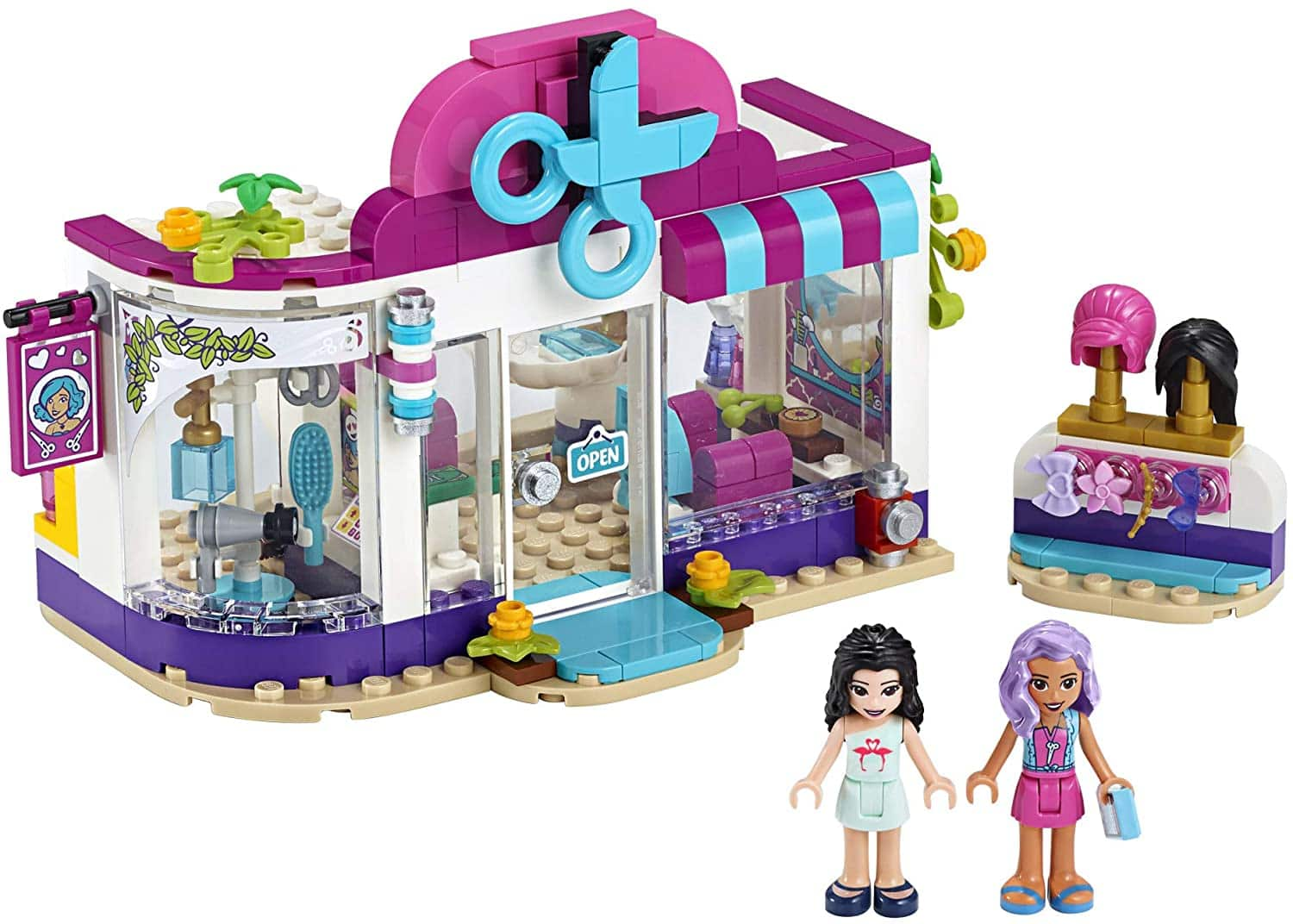 LEGO Friends Heartlake City Play Hair Salon Fun Toy 41391 Building Kit, Featuring LEGO Friends Character Emma, New 2020 (235 Pieces) $15.99