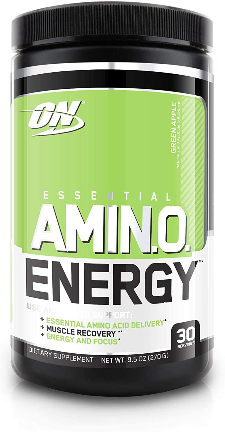 Save 40 %w S&S: Optimum Nutrition Amino Energy - Pre Workout with Green Tea, BCAA, Amino Acids, Keto Friendly - Green Apple, 30 Servings $12.09 at Amazon