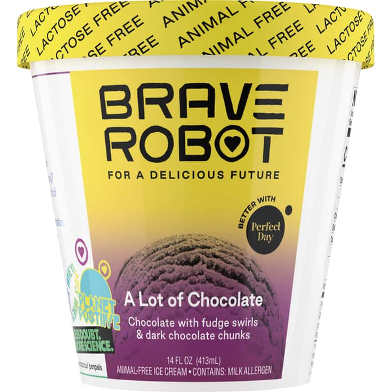 FREE Pint of Brave Robot Ice Cream from Your Local Store $6.99