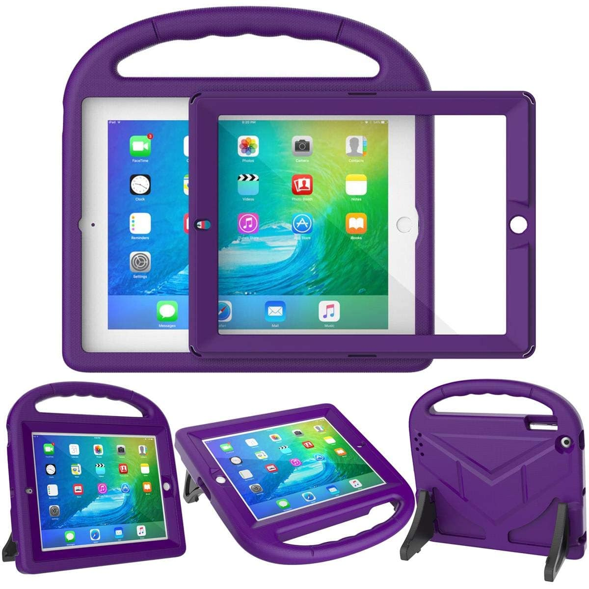 Suplik iPad 2/3/4(Old Model) Case with Screen Protector for Kids 50% Off after code $8.49
