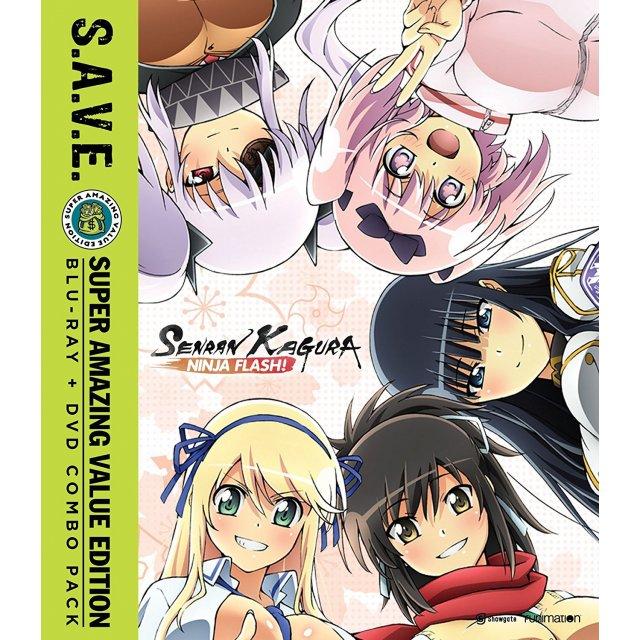 Senran Kagura Ninja Flash! S.A.V.E. Complete Collection