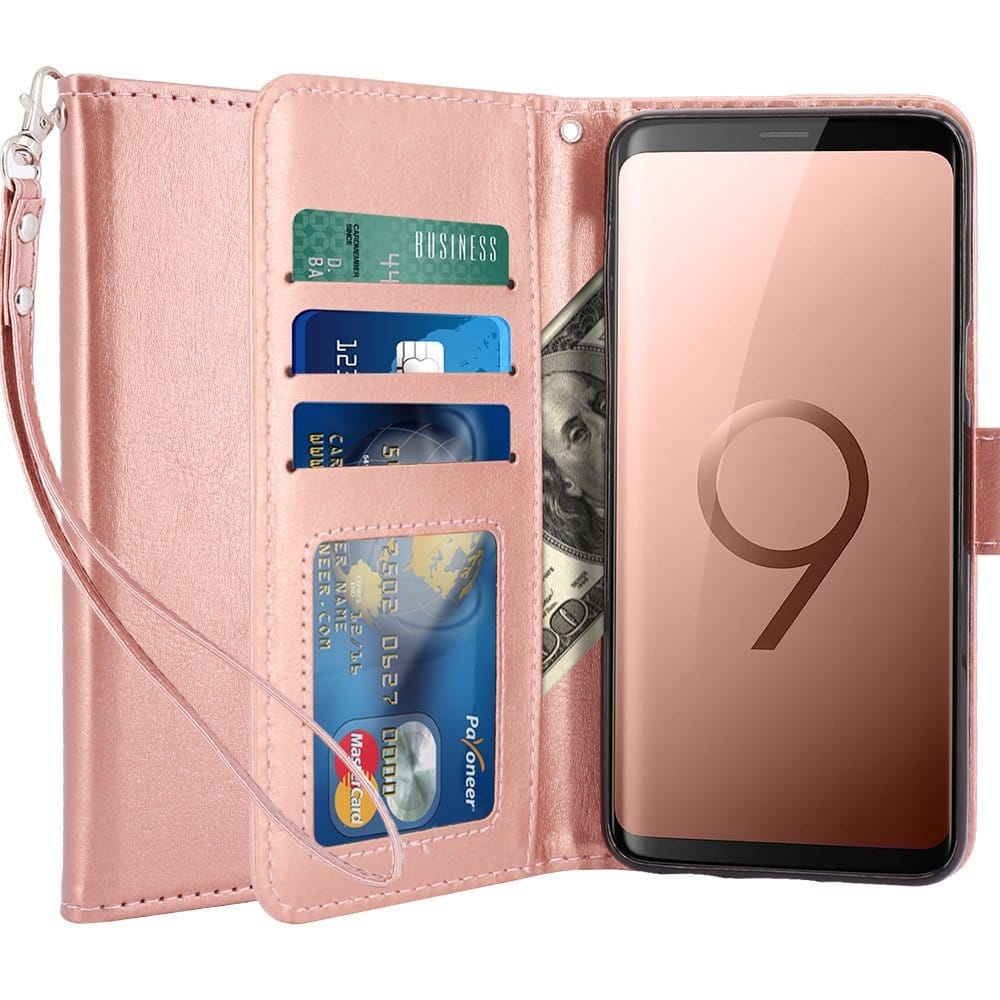 Galaxy S9 and S9 Plus Cases -Rose Gold LK Ultra [Slim Thin] Scratch Resistant TPU Rubber Soft Skin Silicone Case for $2.64 AC and more