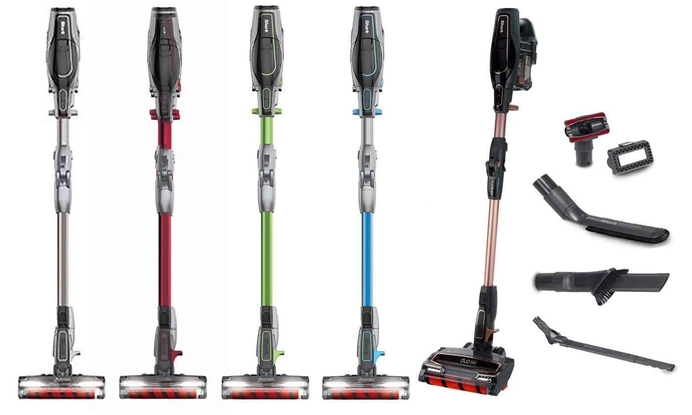Shark IONFlex DuoClean Cordless Ultra-Light Vacuum (Refurbished) IF203 for $107.99 and UF280 for $139.99