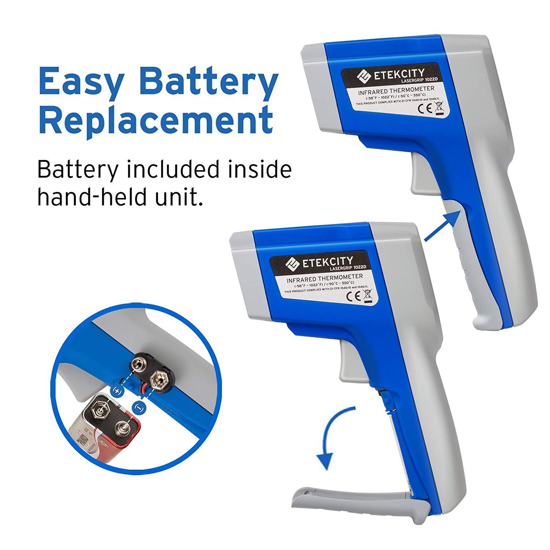 Cyber Monday Sale - Get 20% off Etekcity 1022D Dual Laser Digital Infrared Thermometer Temperature Gun $19.19