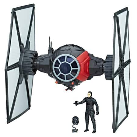 "Star Wars Force Link First Order Special Forces TIE Fighter & Pilot (3.75"" scale) - $9.97 + tax"