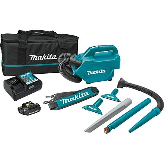 Makita LC09A1 12V max CXT Lithium-Ion Cordless Vacuum Kit (2.0Ah) - $97.97 + tax w/ Free Shipping @ Amazon