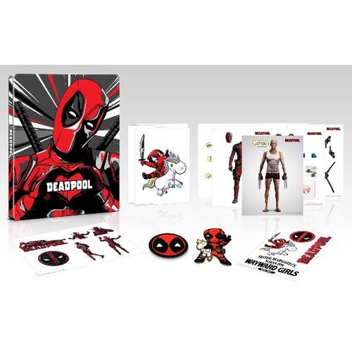 Deadpool [Steelbook] [2 Year Anniversary Edition] [4K Ultra HD Blu-ray] [Only @ Best Buy] [2016] $24.99