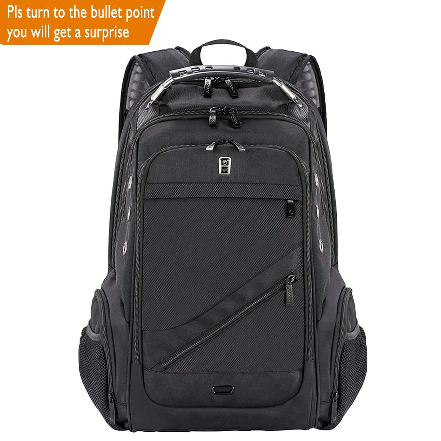 Anti-Theft Laptop Backpack with USB Charging Port $19.79 @ Amazon