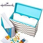 Hallmark Greeting Card Organizer - 12 Free Cards Included! $7.99