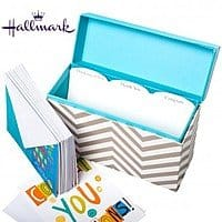 Deal Genius Deal: Hallmark Greeting Card Organizer - 12 Free Cards Included! $7.99