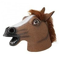A4C Deal: Horse Head Mask - Perfect for Halloween!! $7.98 + Free shipping