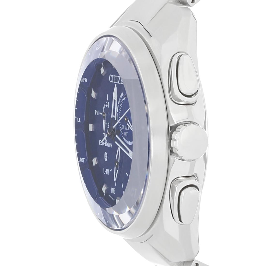 CITIZEN Proximity Pryzm Bluetooth Blue Dial Men's Watch - $189