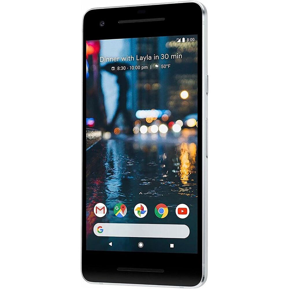 Google Pixel 2 128GB Smartphone (Unlocked, Just Black) $119.99