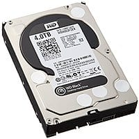 Amazon Deal: Western Digital WD4003FZEX WD Black 4TB SATA 6GB/S 7200RPM 3.5in Internal Hard Drive $179.99 + Shipping @Amazon