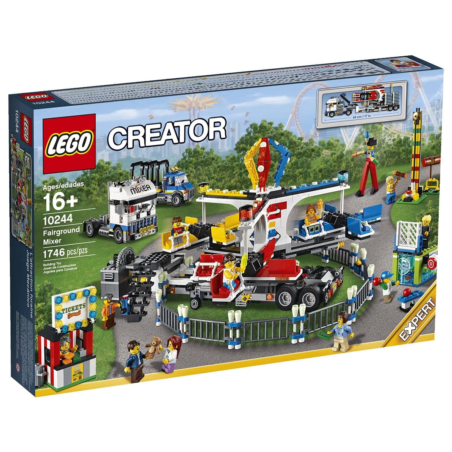 Lego Fairground Mixer $100.94 + tax Free shipping with Prime, additional 5% with Discover at Amazon.com