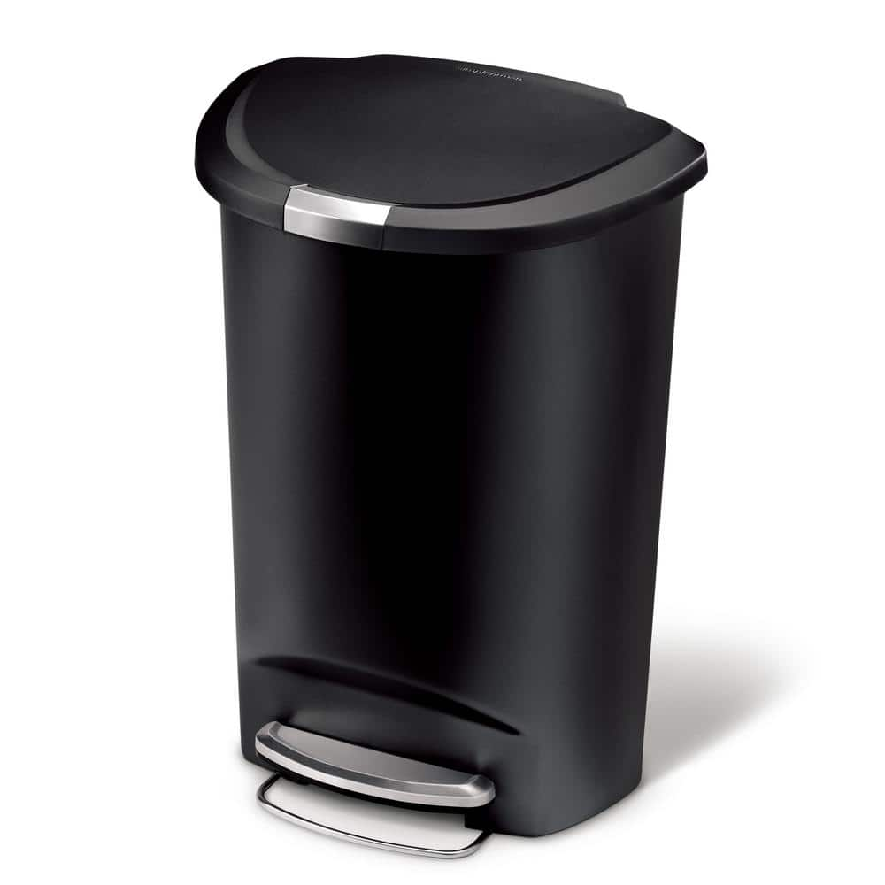 Simplehuman Black 50L Step Trash Can $30 at HomeDepot (instore only)