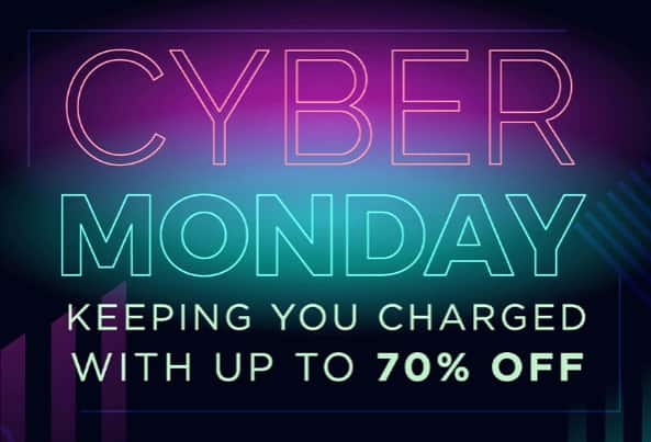 ChargeTech Cyber Monday Sale - Up to 70% Off All Chargers & Power Banks Sitewide