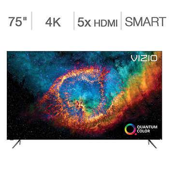 "Vizio 75"" Class - PX-Series - 4K UHD Quantum LED LCD TV $1599.99"