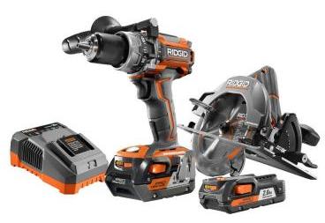 Ridgid R9206 Gen 5x Brushless Hammerdrill/Circular saw $139