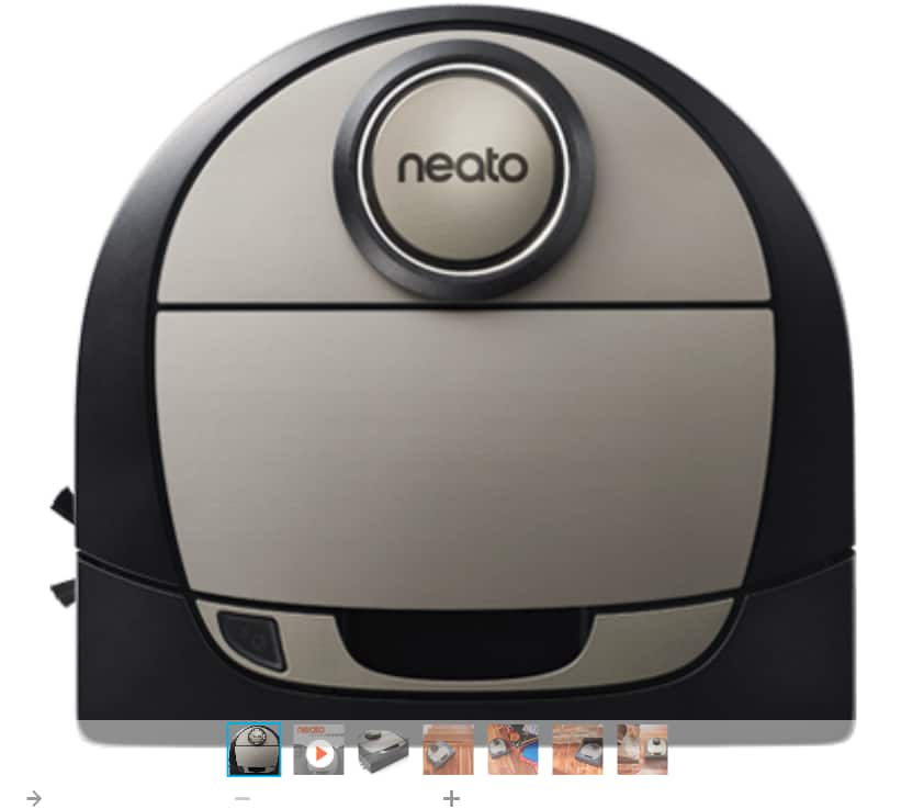 Neato Botvac D7 - $479.99 with Promo (20% off).  Should apply to other models too!!