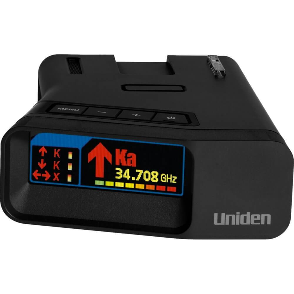 Uniden r7 extreme long range radar detector with gps & threat detection $479