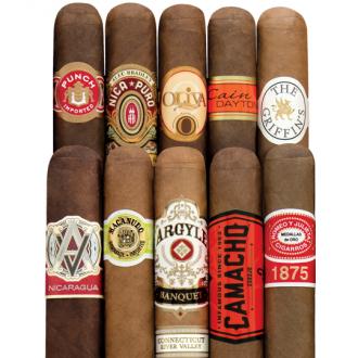 Holt's 10-Cigar Super Sampler for $15