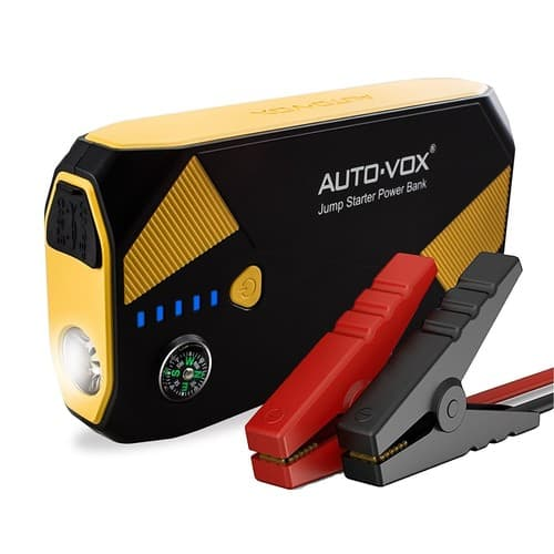 14000mAh 500A Peak (Up to 5L Gas and 2L Diesel Engine) AUTO-VOX Portable Car Battery Booster Jump starter - Amazon at $55.73 AC