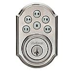 Kwikset 99090-018 SmartCode Electronic Deadbolt, $83.56 shipped at Amazon