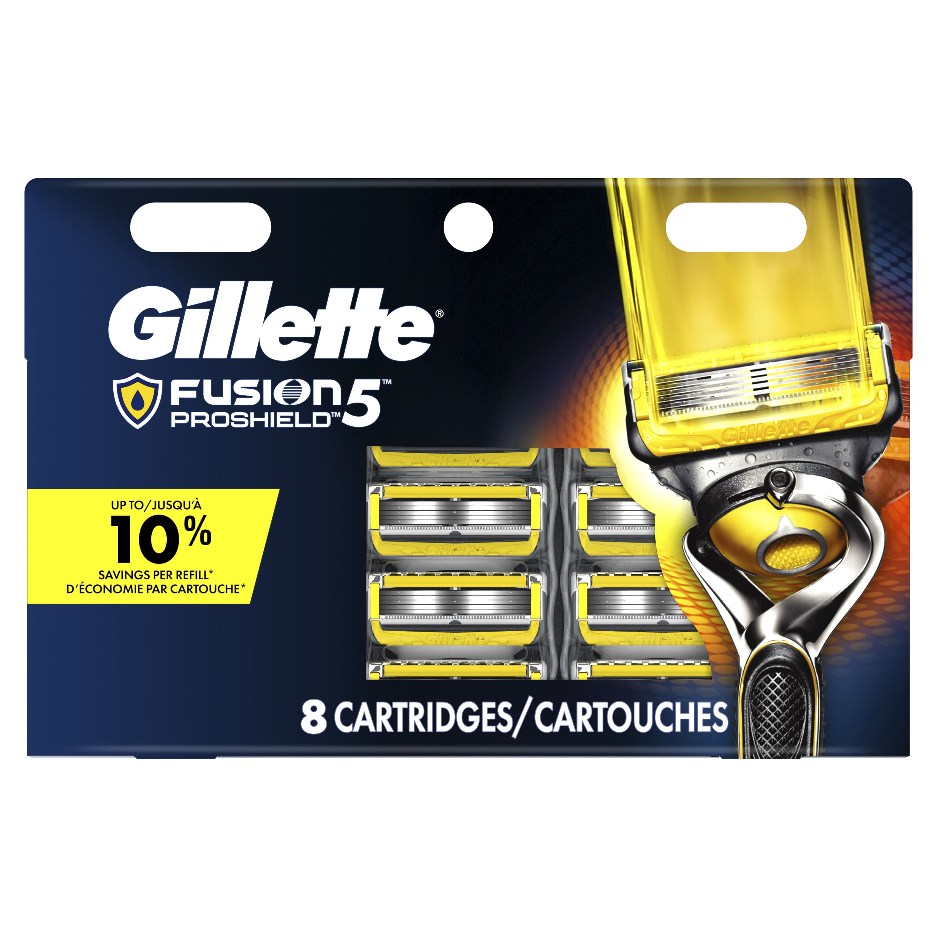 Gilette flash sale For him/her at Walmart- 50% off fusion prochill blades. 8 blades for $18. Plus other deals