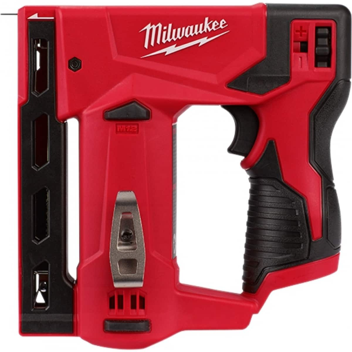 "Milwaukee M12 3/8"" Crown Stapler - $79"
