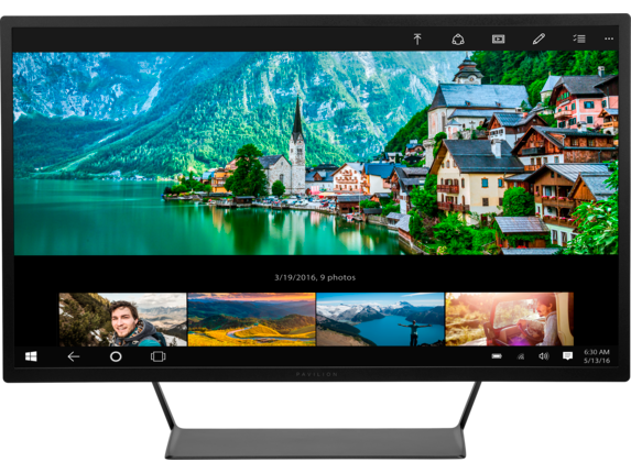 """HP Pavillion 32"""" QHD (2480x1440) monitor $319.99 sold by HP directly"""
